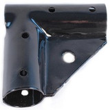 "Corner Elbow 1 5/8"" Heavy Duty Black"