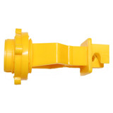 "1"" T-Post Insulator - Yellow, 25 or 250 pack"
