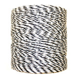 Electric Fence Poly Wire, 1312' - Black and White