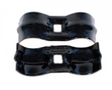 "1 3/8"" Saddle Clamp, Black"