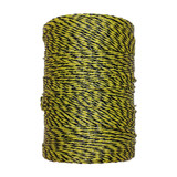 Electric Fence Polywire 1,312', Yellow/Black
