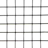 "3' x 50' Welded Wire-19 ga. galvanized steel core; 17 ga after Black PVC-Coating, 1"" x 1"" Mesh"