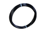 Galv Steel Black PVC Coated Coil - 8ga. 7x7, 100'