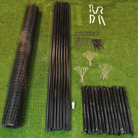 8' x 165' Maximum Strength Deer Fence Kit