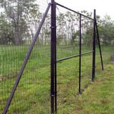 4' Dog Fence Driveway Gate