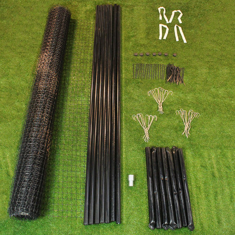 7 5 X 100 Heavy Duty Deer Fence Kit Deerbusters Com