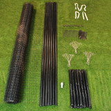 7.5' X 100' Heavy Duty Deer Fence Kit