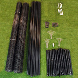 8' x 330' Maximum Strength Deer Fence Kit