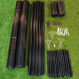 8' x 300' Maximum Strength Deer Fence Kit With Rodent Protection