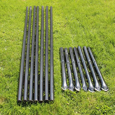 8' H Deer Fence Heavy Line Posts-7 Pack