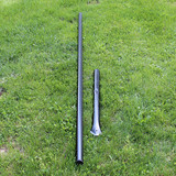 5' H Dog Fence Heavy Line Posts-1 Pack