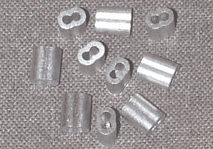 Monofilament Connection Sleeves 12 Gauge