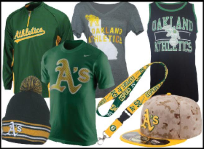 Oakland Athletics Gear