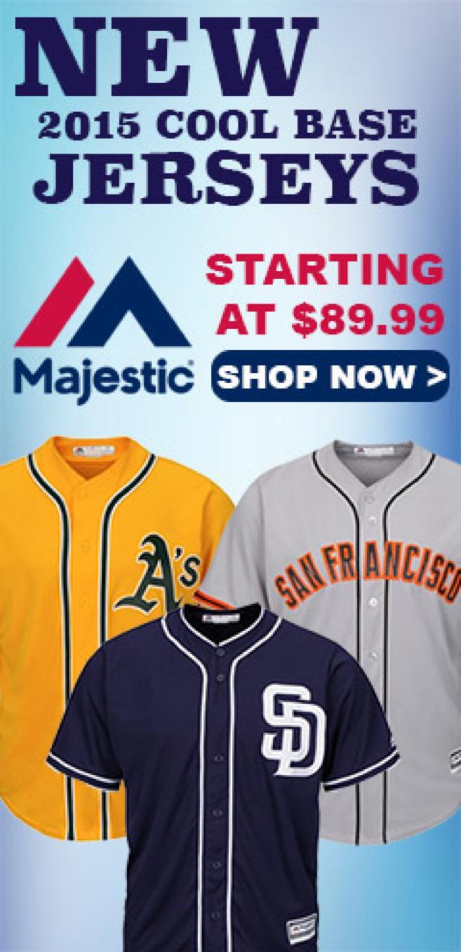 2015 Cool Base MLB Jersey