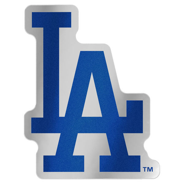 Los Angeles Dodgers Wincraft Auto Emblem Decal Logo On The Gogo