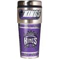 Sacramento Kings 16oz Travel Tumbler with Metallic Wrap