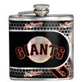 San Francisco Giants 6oz Metallic Wrap Flask