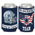 "Dallas Cowboys ""America's Team"" 2-Sided Neoprene Can Cooler Koozie"