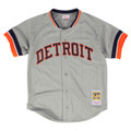 Kirk Gibson 1987 Authentic Mesh BP Jersey Detroit Tigers