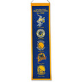 NBA Golden State Warriors Vintage Heritage Banner
