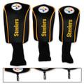 McArthur Pittsburgh Steelers 3-Pack Barrel Headcovers