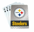 NFL Pittsburgh Steelers Playing Cards-Diamond Plate