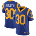 Men's Los Angeles Rams Todd Gurley Nike Royal Limited Jersey [Call-to-Order]
