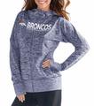 G III NFLÌÎå«Ì´åDenver Broncos Women's Spaced Dye Receiver Full Zip Hoodie