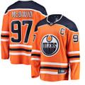 Men's Edmonton Oilers Connor McDavid Orange Breakaway Player Jersey