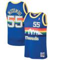 Dikembe Mutombo Denver Nuggets Mitchell & Ness Swingman Jersey in Blue