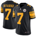 Men's Pittsburgh Steelers Ben Roethlisberger Nike Color Rush Legend Jersey