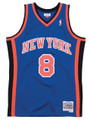 New York Knicks Latrell Sprewell Mitchell & Ness NBA Men's Hardwood Classic Swingman Jersey 1998-99