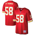 Men's Kansas City Chiefs Derrick Thomas Mitchell & Ness Red Retired Player Replica Jersey