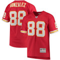Men's Kansas City Chiefs Tony Gonzalez Mitchell & Ness Red Retired Player Replica Jersey
