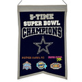 NFL Dallas Cowboys 5X Super Bowl Championship Banner
