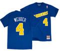 Men's Chris Webber Golden State Warriors Mitchell & Ness Hardwood Classic Player T-Shirt