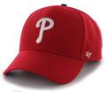 Philadelphia Phillies '47 MVP Adjustable Hat in Red