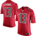 Men's Tampa Bay Buccaneers Mike Evans Nike Red Color Rush Limited Jersey