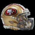 San Francisco 49ers Mini Helmet