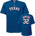 Texas Rangers Josh Hamilton Player T-Shirt
