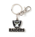 Raiders Heavyweight Logo Keychain
