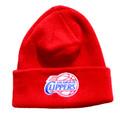 Los Angeles Clippers Cuffed Knit Beanie Red