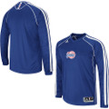 L.A. Clippers Long Sleeve Shooting Shirt Blue