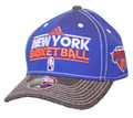 New York Knicks Authentic Practice Adjustable Hat Front