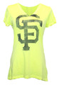 San Francisco Giants Look At Me Now Neon V-Neck