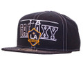 Los Angeles Galaxy Contrast Stitch Snapback Hat Front
