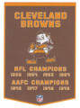 Cleveland Browns Dynasty Pennant