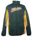 Oakland Athletics Youth On Field Jacket Front
