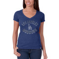 Los Angeles Dodgers Women's Scrum V-Neck T-Shirt