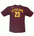 Lebron James Cleveland Cavaliers Youth Gametime Player T-Shirt Front